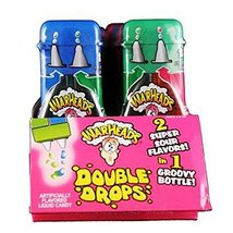 Warheads Super Sour Double Drops Liquid Candy 1.01 Fluid Ounce Bottles (... - $44.99