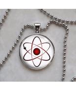 Atom Atomic Model Physics Science Nerd Math Pendant Necklace - $14.00+