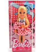 Barbie Little Sister Chelsea Pink Dress Valentine Doll Mattel Free Shipping - $7.81
