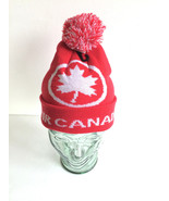Air Canada Winter Ski Toque Knit Beanie Hat Pom Pom  - $49.99