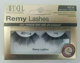 Ardell Professional Remy Lashes  #776 Black False Eyelashes Invisiband - $7.87