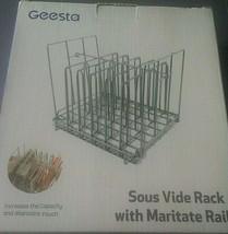 Geesta Sous Vide Rack With Maritate Rail Gourmet Accessories - $19.24