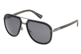 New Lanvin Sunglasses SLN044M K20F Black/Gunmetal w/Gray 57MM - $225.35