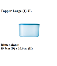 Tupperware One Touch Airtight Topper Topper Lar... - $32.99