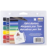 Fabric Marker Broad Tip 6/Pkg-Primary - $4.99