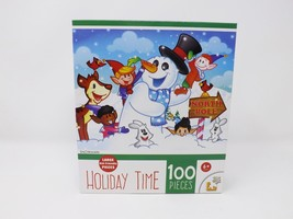 Holiday Time Snowman Puzzle - New - 100 Large Kid-Friendly Pieces - $16.14