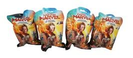4 Pc Lot - Captain Marvel Mini Domez Series 1 Random Toy Blind Bag 2019 - $18.88