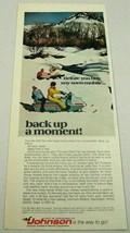 1969 Print Ad Johnson Skee-Horse Wide-Trac Snowmobiles Waukegan,IL - $11.82