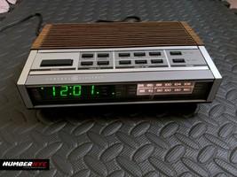 Vintage General Electric GE 7-4G52A Wood Grain Programmable Alarm Clock ... - $69.29