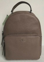 New Kate Spade mini Nicole Larchmont Avenue Leather Backpack Light Walnut - $139.00