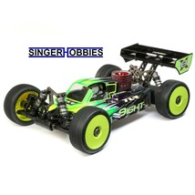 Team Losi Racing 1/8 8IGHT-X 4WD Radio Control Nitro Buggy Race Kit TLR0... - $649.99