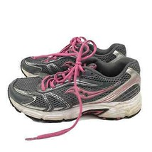 Saucony Oasis Grid Womens Running Training Shoes Gray Pink 10 Athletic - $19.99