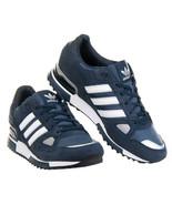 adidas Originals Mens ZX 750 Trainers Navy/Blue/White/Black/ - $116.09
