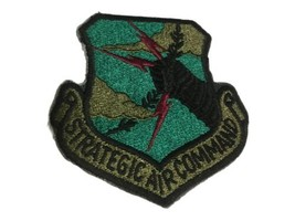 US Air Force Strategic Air Command Subdued Patch - $9.50