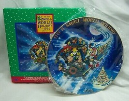 """1994 Disney IT'S A SMALL WORLD HOLIDAY 6"""" COMMEMORATIVE COLLECTOR'S PLAT... - $29.70"""