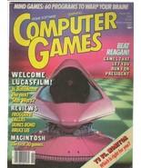 ORIGINAL Vintage Computer Games Magazine Nov/Dec 1984 Ballblazer Frogger II - $29.69