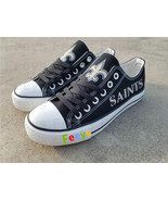 new orleans saints shoes saints sneakers super sowl fashion birthday gif... - $55.00+