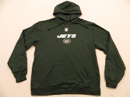 M4 NEW Reebok New York Jets Hooded Hoody Sweatshirt Jacket  Men's L  - €24,34 EUR