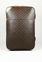 "Louis Vuitton ""Pegase 65"" Monogram Coated Canvas Suitcase - $2,060.00"
