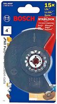 """BOSCH Starlock 4"""" x 4"""" Bi-Metal Segment Blade OSL400F - $21.95"""