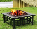 Outdoor Fire Pit For Your Backyard Hot Dog Marsmallows Heating Cooking
