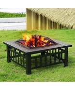 Outdoor Fire Pit For Your Backyard Hot Dog Marsmallows Heating Cooking - $110.00