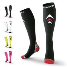 Rymora Compression Socks (Cushioned, Graduated Compression, Unisex for M... - £25.46 GBP