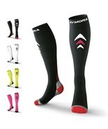 Rymora Compression Socks (Cushioned, Graduated Compression, Unisex for M... - $35.97