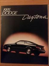 1985 Dodge Daytona Catalog Sales Brochure Turbo Z Excellent Original 85 - $14.84