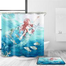 XYZLS 2017 Brand New European Beautiful Mermaid Waterproof Shower Curtains  Poly - $34.82