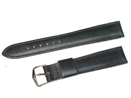 RARE CLASSIC VINTAGE GENUINE LEATHER WATCH BAND 20MM CALF KALBE' 3/4LONG - $47.85 CAD