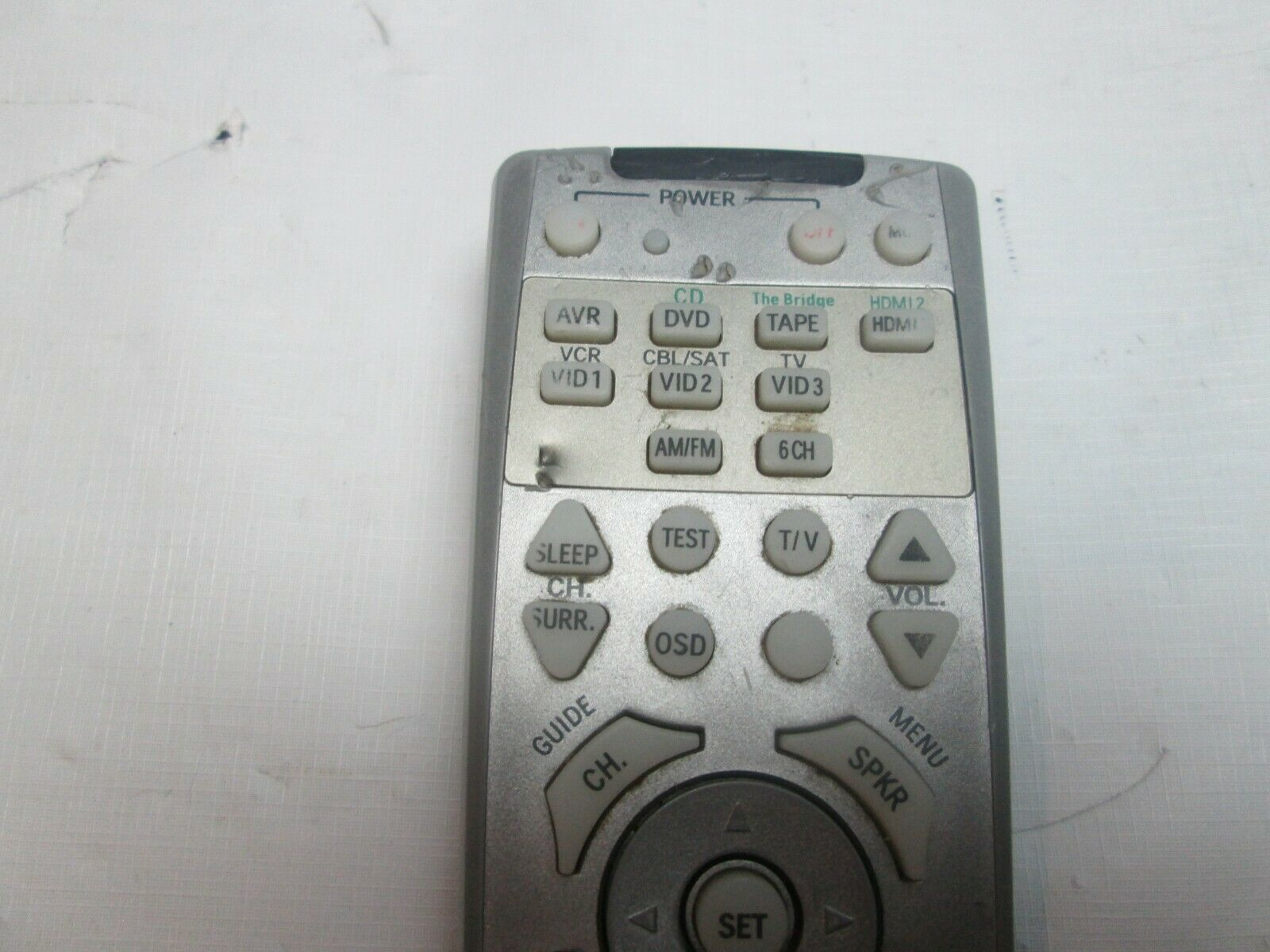 GENUINE OEM Harman Kardon AVR 146 AVR146 Receiver Remote Control