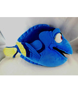 Finding Dory Blue Tang Fish PLUSH TOY Disney Store Velvety cloth 17 inches - $13.85