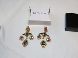 Ladies Womens Avon Gilded Empire Convertible Earrings goldtone F3879011 NIP;; - $16.33