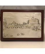 925 Plaque On Wood Frame/ Hanging Or Stand Display - $14.85