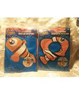 Splash Toy Fish and Matching Splash Ring Pool Toy Party Luau Orange - $10.37