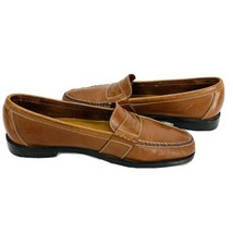 Cole Haan Douglas Penny Loafers Brown Leather Shoes Slip On Men's Size 1... - $33.22