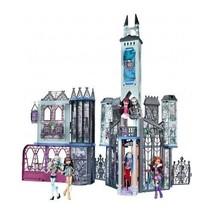 Monster High Doll House Deadluxe High School Playset Castle Girls Haunte... - $158.39