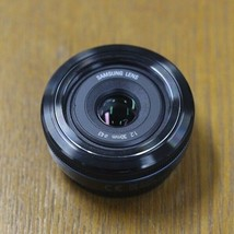 Samsung  30mm F2.0 Fixed Focal Length Pancake Lens S30NB NX - Black image 2