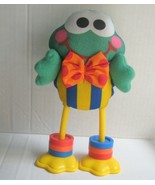 Fisher Price Click-Clack Froggie Frog Vtg Baby Toy Bright Expressions Pl... - $25.19