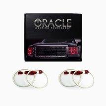 Oracle Lighting CH-AV0711-R - Chevrolet Avalanche LED Halo Headlight Rings - Red - $177.65