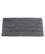 Non-Slip Bathroom Rugs Chenille Microfiber Floor Mat Fast Water Absorben... - $9.99