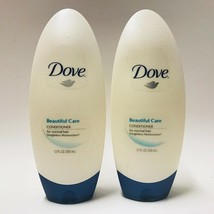 2 Bottles Dove Beautiful Care Conditioner For Normal Hair 12 fl.oz Weight - $24.74