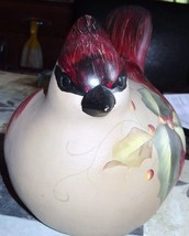 Tii Resin Cardinal with Holly image 2