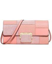 Michael Kors Cynthia Large Clutch pale pink/Gold - $3.636,99 MXN