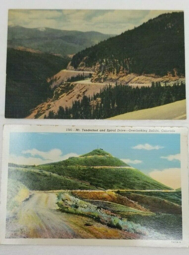 Set of 4 Vintage 1960s Colorado Postcards Photographs Air Force Academy US 50
