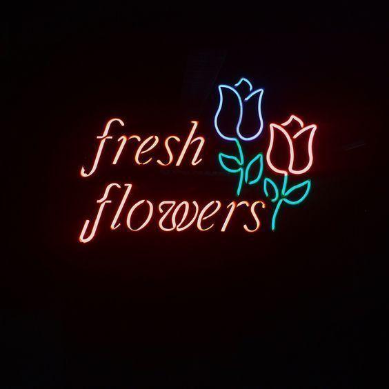 "New Fresh Flowers Rose Bar Pub Lamp Light BEER Neon Sign 24""x20"""