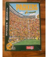 """Old or Vintage 1994 Green Bay Packers Jigsaw Puzzle NFL 21"""" x 15"""" Fandem... - $29.99"""
