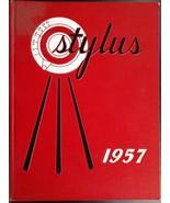 1957 GLENDALE HIGH SCHOOL California SYLUS Original YEARBOOK Annual Vintage - $64.35