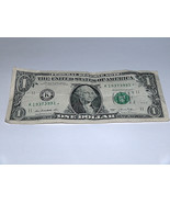 2013 $1 Dollar Bill US Star Note Year Date Pair 1937 3991 Fancy $ Serial... - $12.95